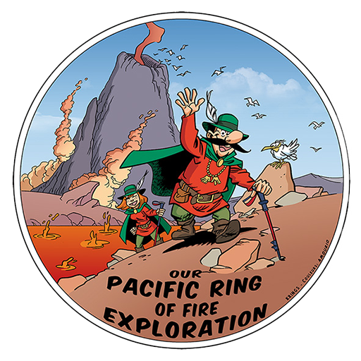 Our Pacific ring of fire exploration